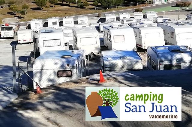 aparcamiento caravanas Valdemorillo